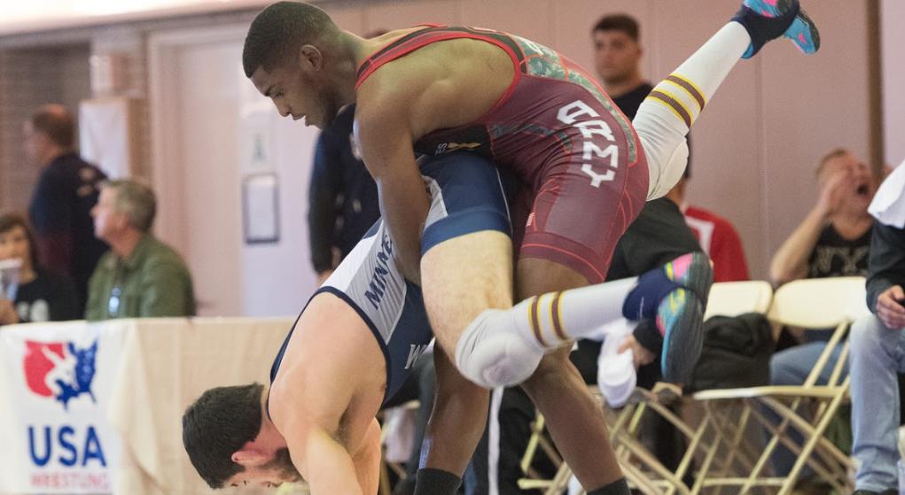 Ellis Coleman, 67 kg, 2018 US Greco-Roman World Team Trials