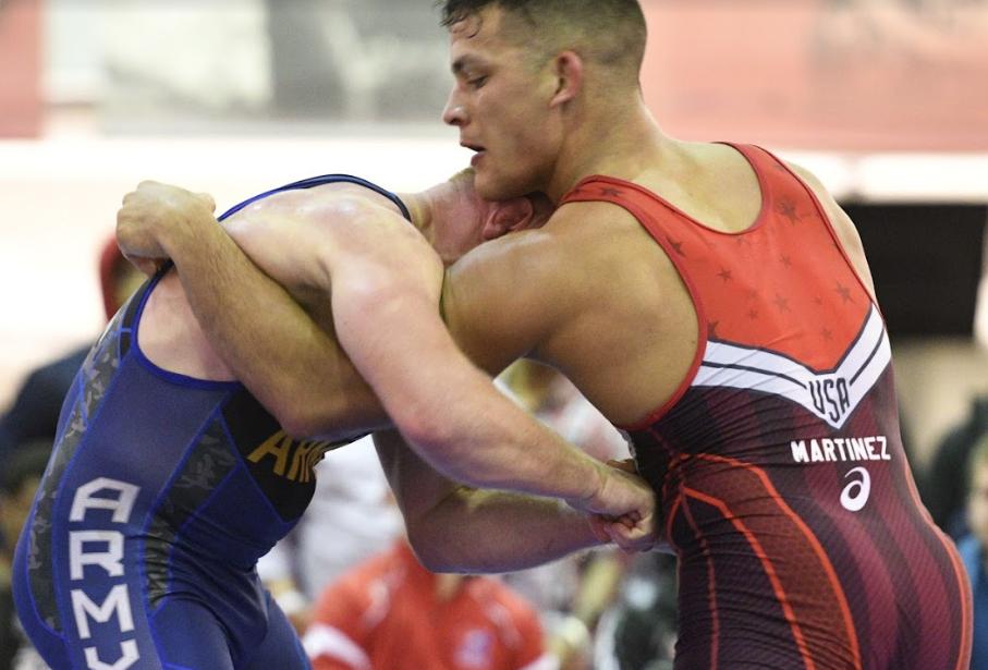 Patrick Martinez, 87 kg, 2018 US Senior Greco Trials