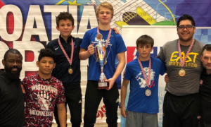 usa greco-roman cadets at 2018 croatia open