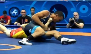 james burks, 2018 cadet greco-roman world championships