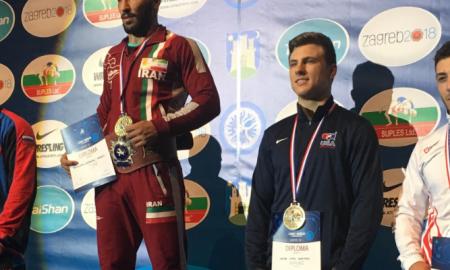 jacob kaminski, 2018 cadet greco-roman world bronze medalist