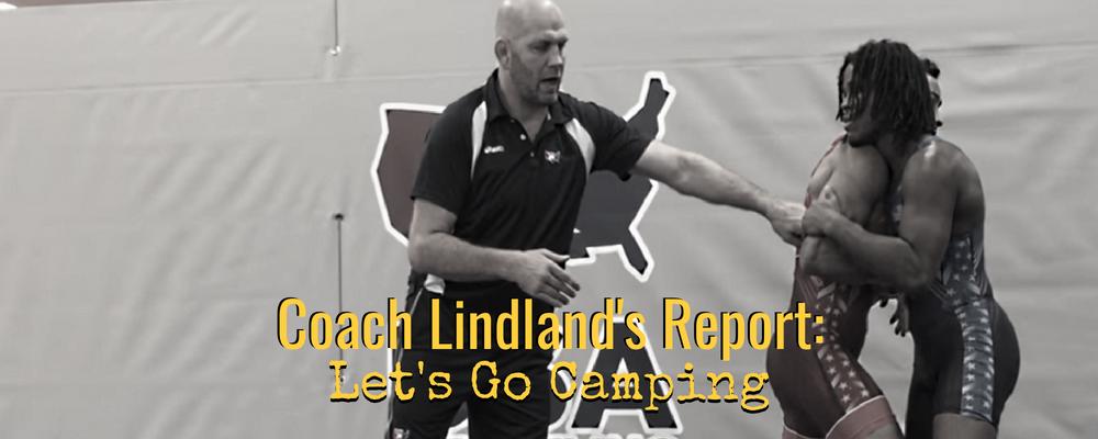 Lindland talks base training camp in Oregon