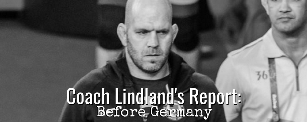 Matt Lindland talks Vegas World Camp, German Grand Prix