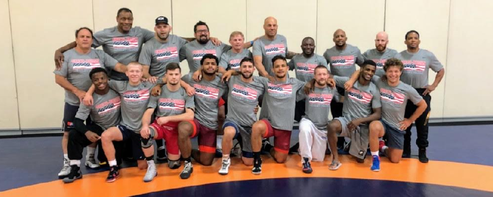 The US Seniors at Vegas World Team camp