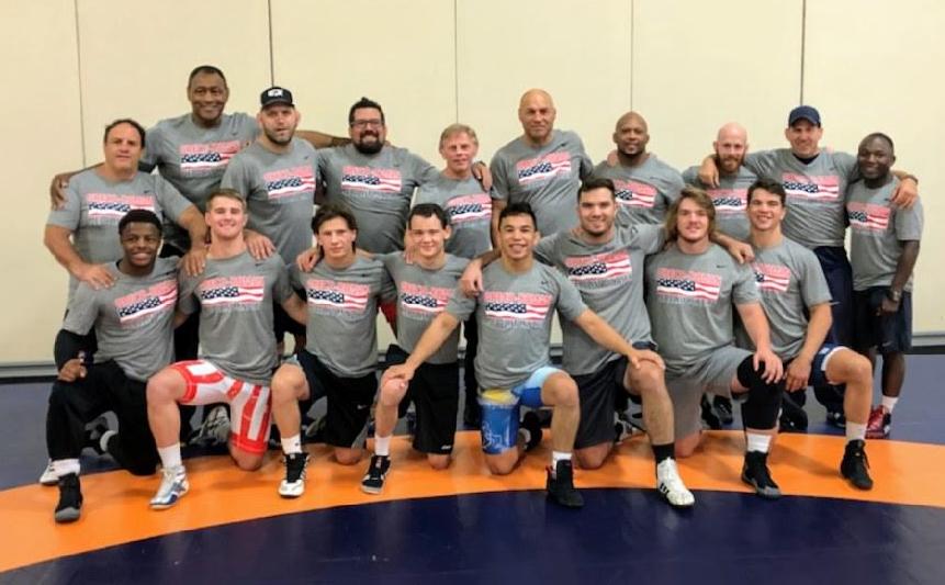 2018 US Junior Greco-Roman World Team at Las Vegas World Team Camp