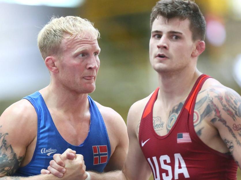 Jesse Thielke, 63 kg, USA Greco-Roman World Team