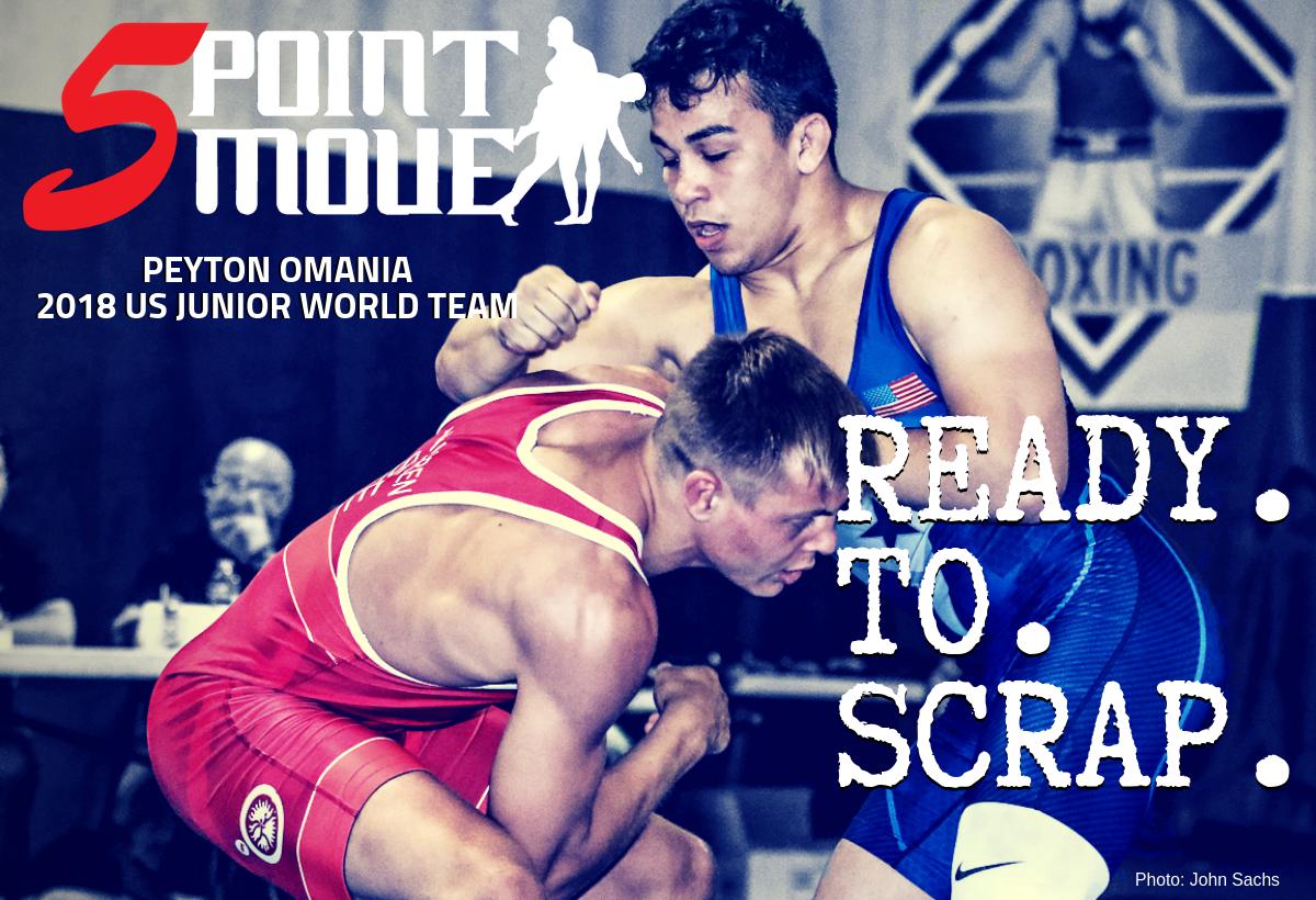 Peyton Omania talks 2018 Junior Greco-Roman World Championships