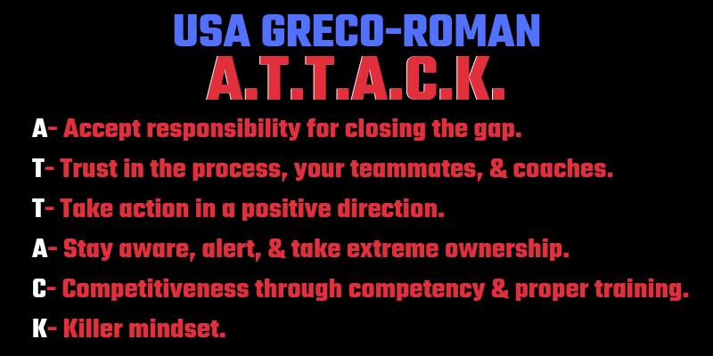 USA Greco-Roman ATTACK acronym