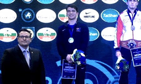 andrew berreyesa, silver at 2018 junior world championships