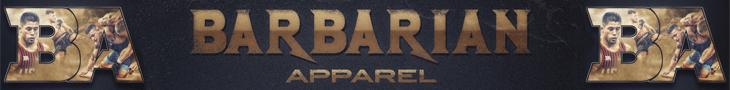barbarian apparel long banner
