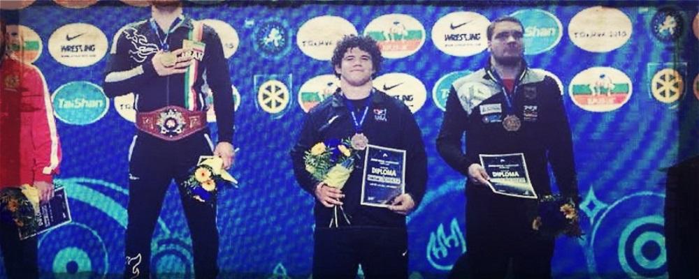 cohlton schultz, junior world bronze medalist