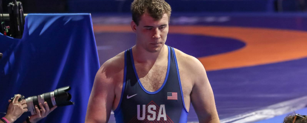 adam coon, 2018 world silver medalist