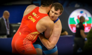 adam coon vs sergey semenov 2018 greco-roman world final 130 kg