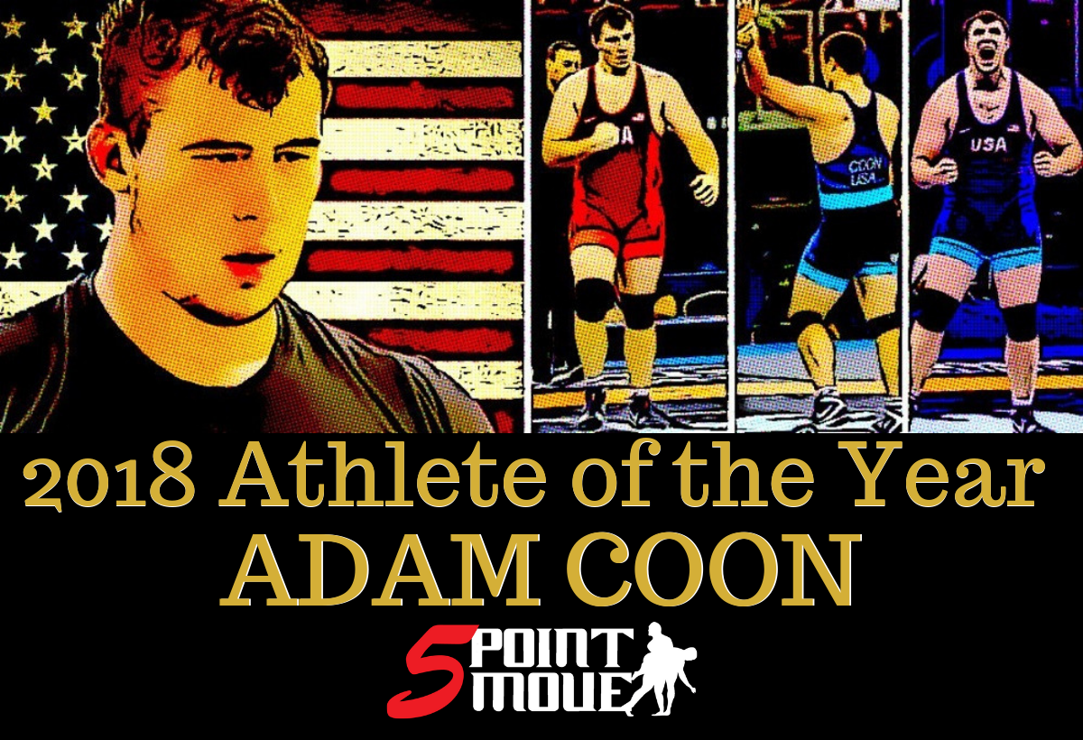 He went from collegiate star to Senior World runner-up in just a few months' time. But not all of the moments in between were easy for Adam Coon, and the 2018 Athlete of the Year reveals in vivid detail exactly what was going through his mind as he trained for the World Championships.