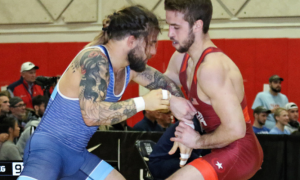 sammy jones and travis rice at the 2019 dave schultz memorial