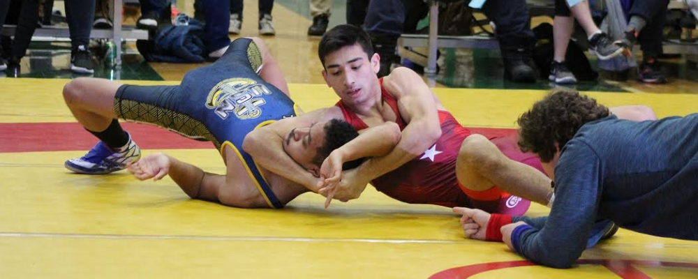 nmu versus navy, greco-roman dual meet at northern michigan university