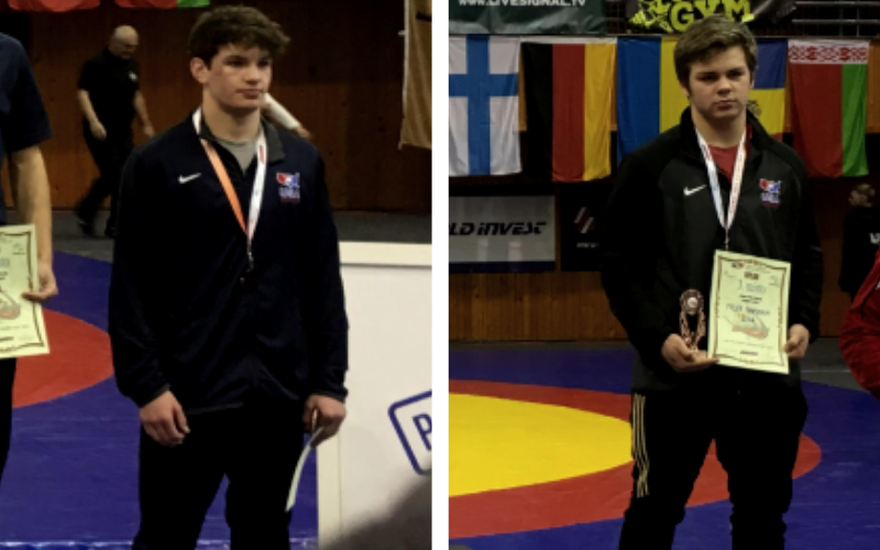Two USA Athletes Place at 2019 Grand Prix Chomutov in Czech Republic