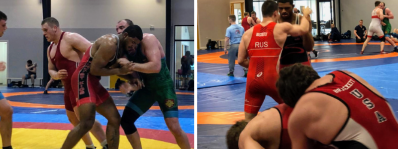 usa greco athletes training in denmark, march 2019