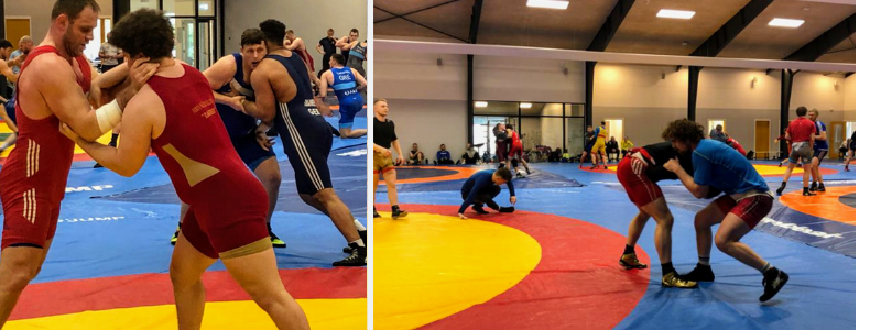 greco wrestling camp