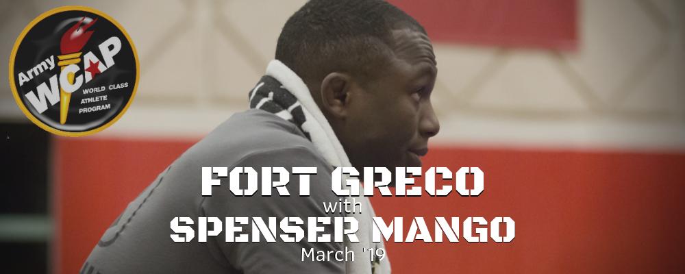 spenser mango, fort greco, march 2019