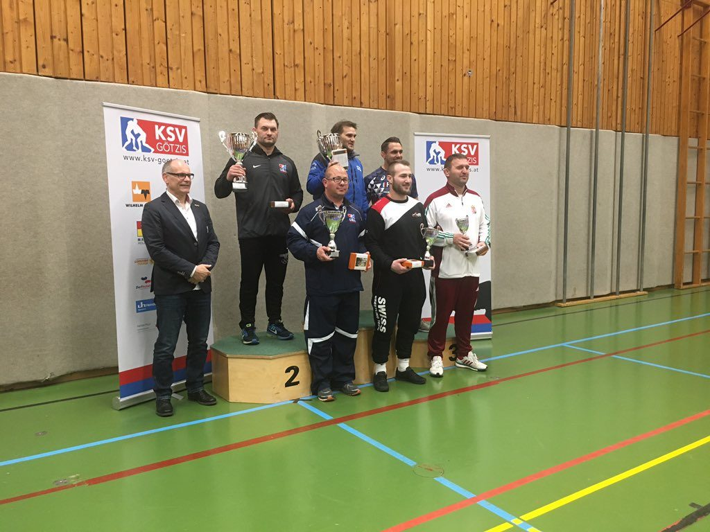 Team USA gets second at the 2019 Austrian Open Greco-Roman tournament.