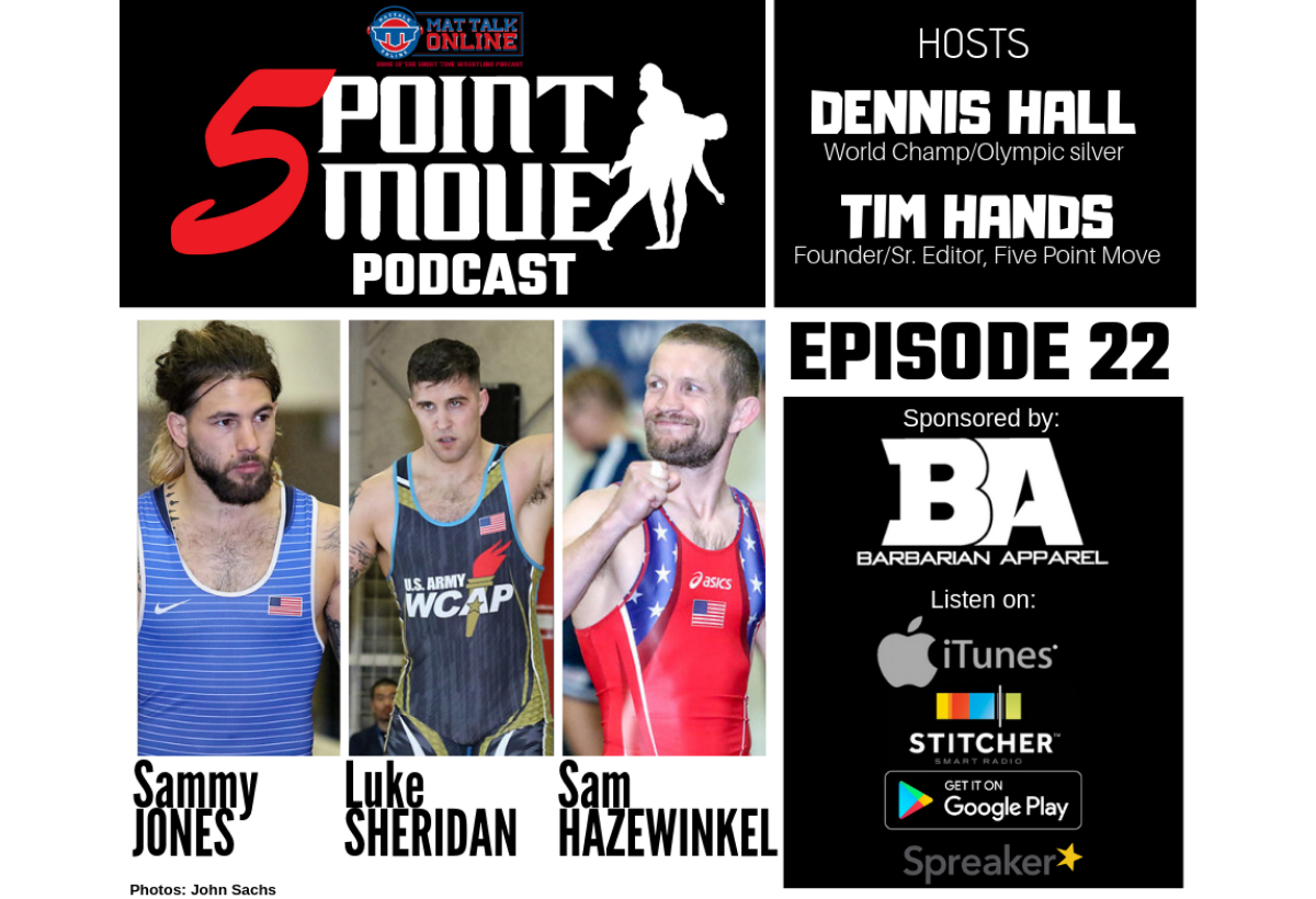 episode 22 of the five point move podcast