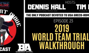 five point move podcast, episode 23, usa greco-roman world team trials