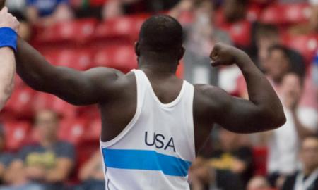 kendrick sanders, 2019 us open greco-roman champion, 82 kg