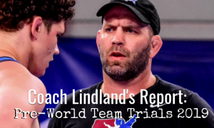 lindland, 2019 world team trials challenge tournament