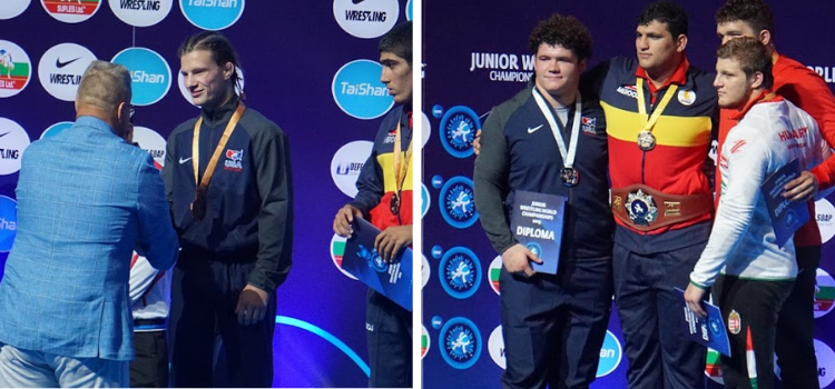 2019 junior greco-roman world championships, nutter and schultz medals