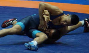 peyton omania, 2019 junior world bronze medalist