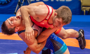 ildar hafizov, 60 kg, defeats etienne kinsinger