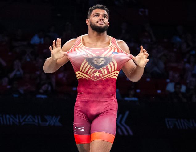 g'angelo hancock, 97 kg, 2019 world championships