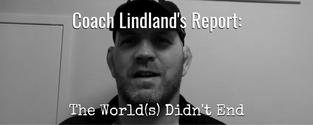 lindland post 2019 worlds