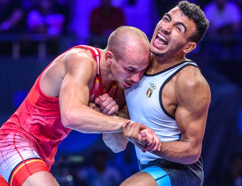frank staebler vs. mohamed elsayed, 2019 world championships