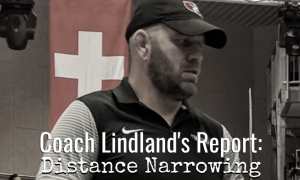 lindland, pan am qualifier camp