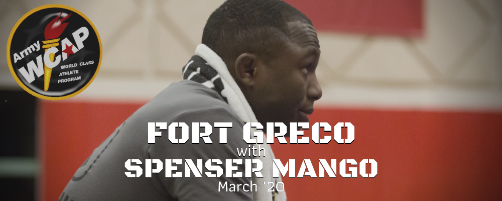 spenser mango, fort greco, march '20