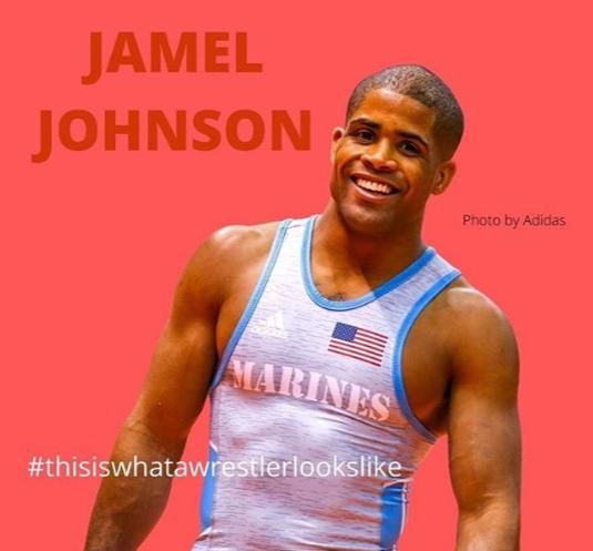 jamel johnson, wrestler