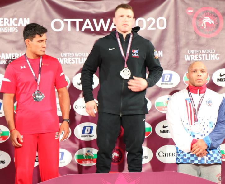 john stefanowicz, 2020 pan am championships gold