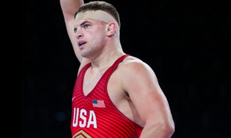 braxton amos, 2021 junior greco-roman world championships