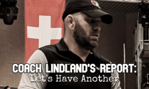 usa national team head coach matt lindland before 2021 oslo world team trials