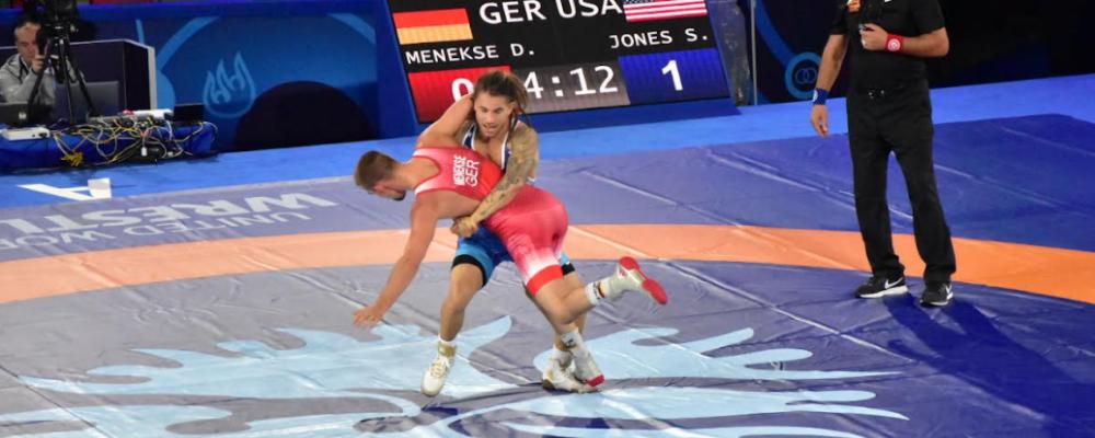 sammy jones, 2021 world championships