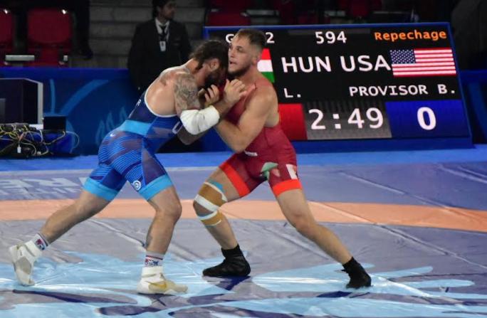 ben provisor, 2021 world championships