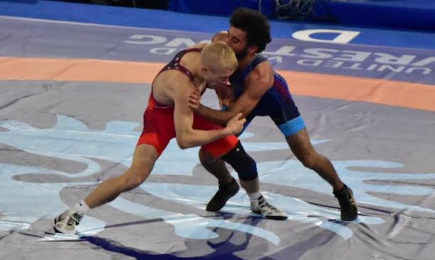 dalton roberts, 2021 world championships