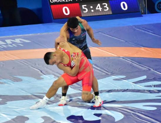 peyton omania, 2021 world championships